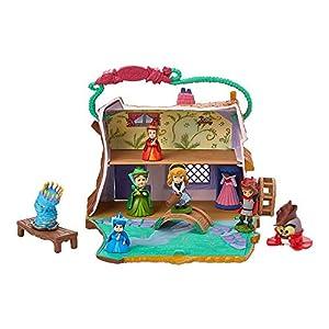 51a%2BtsLvvrL. SS300 Disney Animators' Littles Aurora Cottage Playset – Sleeping Beauty
