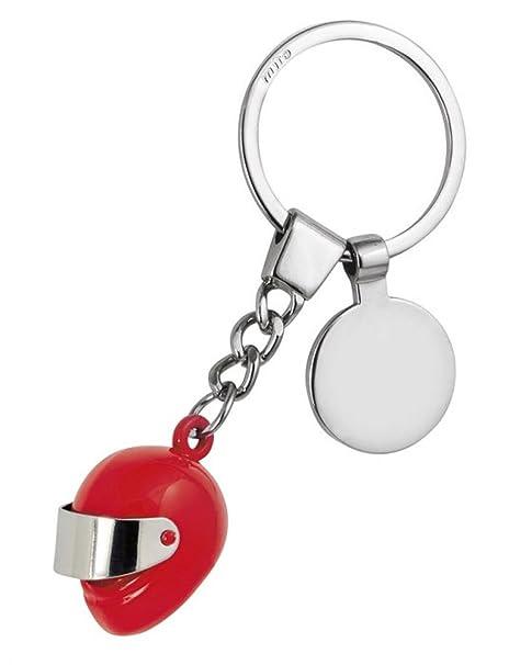 Ten Llavero de Casco Rojo con Token cod.EL7841 cm 9,5x3,5x2h ...