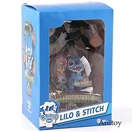 Amazon.com: GrandToyZone - Figura de Lilo y Stitch de 6.3 in ...