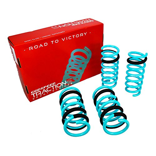 LS-TS-II-0001-A Traction-S Performance Lowering Springs for Infiniti G35 Coupe(V35) 2003-2007(RWD)