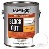 INSL-X TB110009A-01 Acrylic Exterior Tannin Blocking Products Corp TB1100099-01 Gallon White Black Out Primer, 1 Gallon,