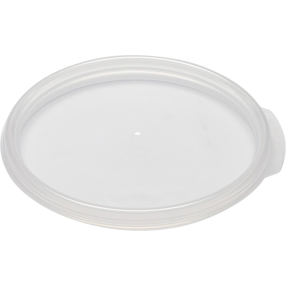 Cambro 12. 18 and 22 qt. Extra Large Seal Lids, 6PK Translucent RFS12SCPP-190 by Cambro