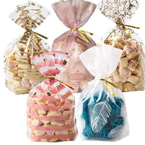 Yichener 50 Bolsas de plástico para Galletas, Dulces ...