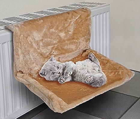 Gato Hamaca para la calefacción gato-Tumbona Calefacción Liegen ...