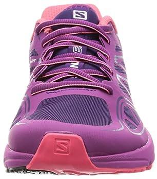 Salomon Women's Sonic Aero W Running Shoe, Cosmic Purpleazalee Pinkmadder Pink, 9 B Us 3
