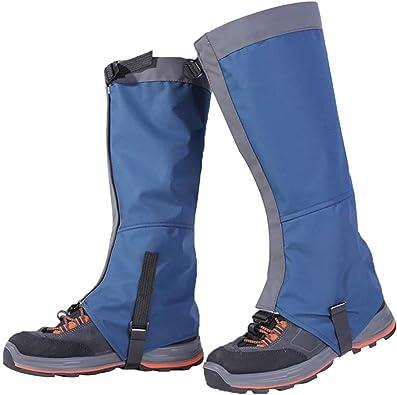 Macabolo - Perneras para senderismo impermeables transpirables para botas de nieve, para escalada, caza, senderismo, caminar, 1 par