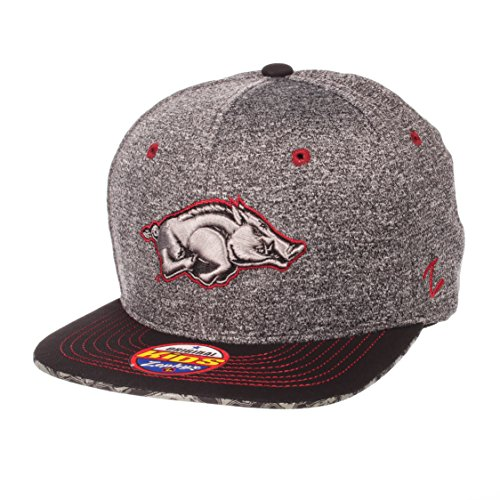 (ZHATS NCAA Arkansas Razorbacks Children Boys Prodigy Youth Snapback Hat, Youth Adjustable, Gray/Team Color)