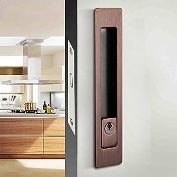 Amazon Com Ccjh Invisible Door Locks Handle With 3 Keys