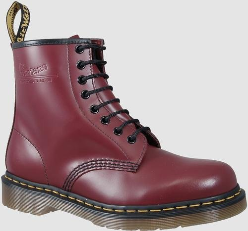 Dr. Martens 1460 Originals 8 Eye Lace Up Boot, Cherry Red Rouge Leather, 6UK / 7 US Mens / 8 US Womens, 39 EU