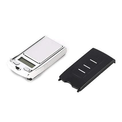 Heaviesk Báscula Digital Escala Mini Digital de Bolsillo 200 g 0.01 g Precisión g/DWT