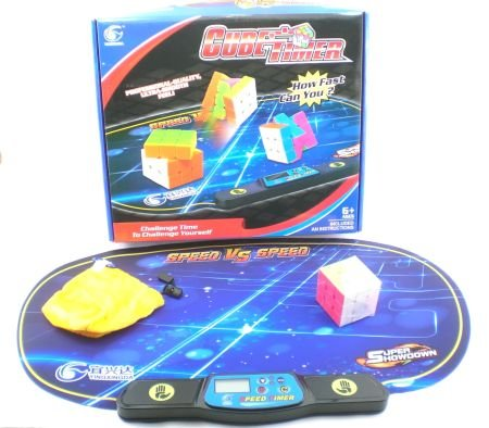 Speed Puzzle Cube And Timer Competition Set