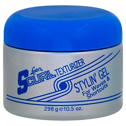 Luster's S-Curl Texturizer Stylin' Gel 10.5 oz (Pack of 4) (Best Texturizer For Men)
