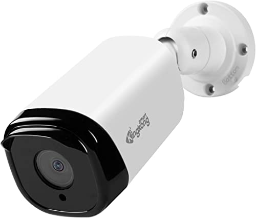 KINGKONG SMART PoE IP Camera,5 Megapixels Super HD 2560X1920 Home Security IP67 Waterproof Outdoor Indoor Video Surveillance,H.265 CCTV Cameras,Support Onvif,Auido,Remote Acce