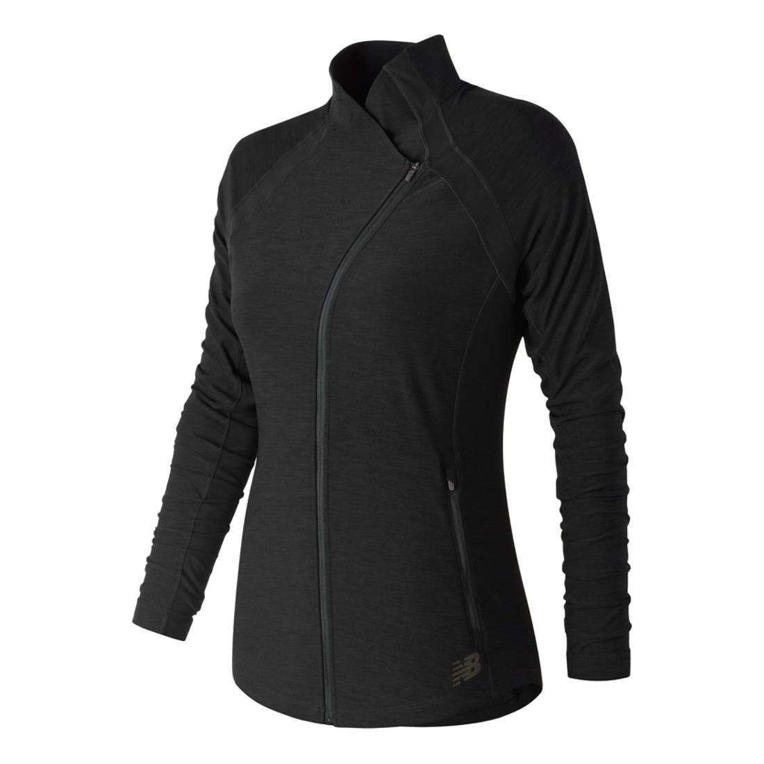 New Balance Women's Anticipate Jacket, Black, X-Small