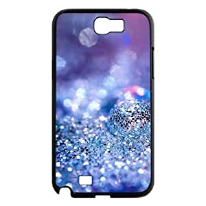 Silver Bling Personalized Cover Case for Samsung Galaxy Note 2 N7100,customized phone case ygtg592199 by icecream design