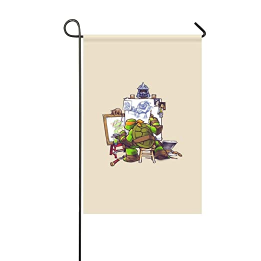 DongGan Bandera de jardín Teenage Mutant Ninja Turtles ...