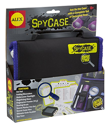 ALEX Toys Undercover Spy Case Detective Gear Set for solving mysteries.