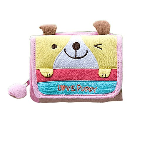 Amazon.com: [Love Puppy] billetera triple (4,53.5): Clothing