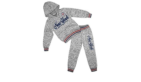 Yvon Fashion - Chándal - para niño gris gris claro 2 años: Amazon ...