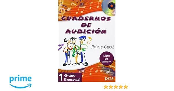 Cuadernos de Audición, 1 Grado Elemental Libro del Alumno RM Audicion: Amazon.es: Amando Ibáñez Mayor, Dionisio Cursá De Pedro, Improvisation Theory: Libros