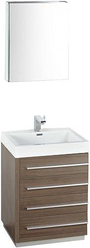 Fresca Bath FVN8024GO Livello 24″ Vanity
