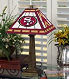 NFL Mission-style Table Lamp, 49ERS