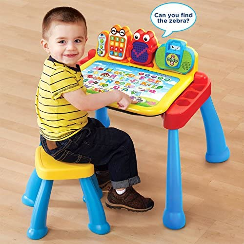 toys, games, kids' electronics,  electronic learning toys 1 image VTech Touch and Learn Activity Desk Deluxe deals