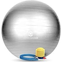 Active Winner バランスボール 65/55cm アンチバースト 分厚い ...
