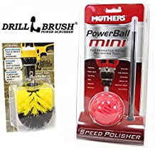 Mothers Powerball and Tire Brush Kit