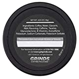Grinds Coffee Pouches | 3 Cans of Vanilla | Tobacco Free, Nicotine Free Healthy Alternative | 18 Pouches Per Can | 1 Pouch eq. 1/4 Cup of Coffee