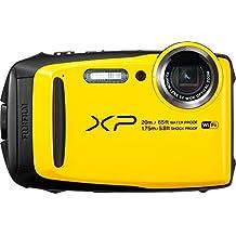 Fujifilm XP120 Waterproof Digital Camera, Yellow