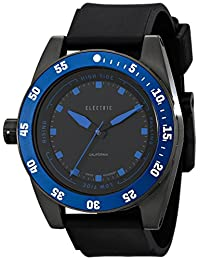 Electric Men's EW0140030032 DW03 PU Band Analog Display Swiss Quartz Black Watch