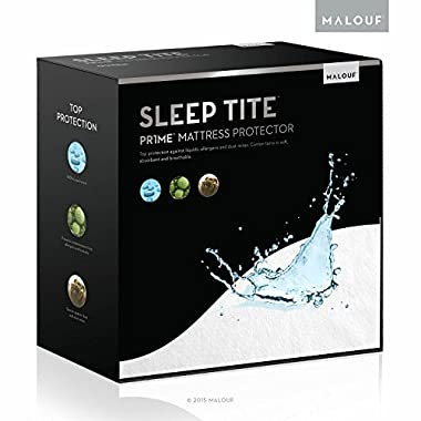 Sleep Tite Hypoallergenic 100% Waterproof Mattress Protector- 15-Year Warranty - King