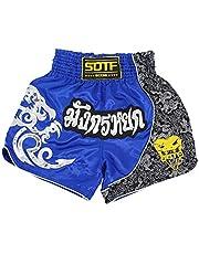 SOTF Boxing Shorts for Men Training Muay Thai Short Men Fight Shorts for Men Martial Arts