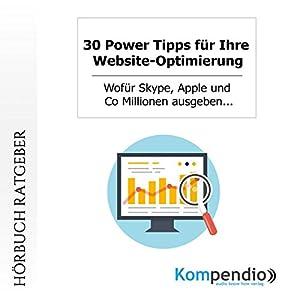30 Power Tipps für Ihre Website-Optimierung Audiobook