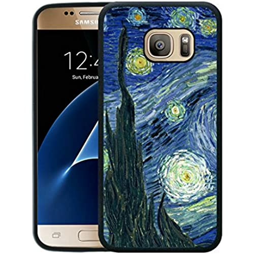 Case for Samsung Galaxy S7,Vincent van Gogh oil painting Samsung Galaxy S7 Case [TPU Black] Sales