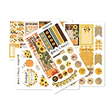 Fall Autumn Sticker Sheets | Planner Stickers for The Happy Planner (Grateful Fall_HP Matte)