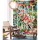 """Tapestry Floral Word Wall Decor Floral Tapestry Home Decor,60""""x 80"""",Twin Size"""