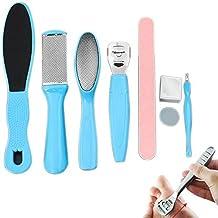 8Pcs/Set Manicure Foot Care File Set Dead Hard Skin Callus Remover Scraper Pedicure Rasp Tools