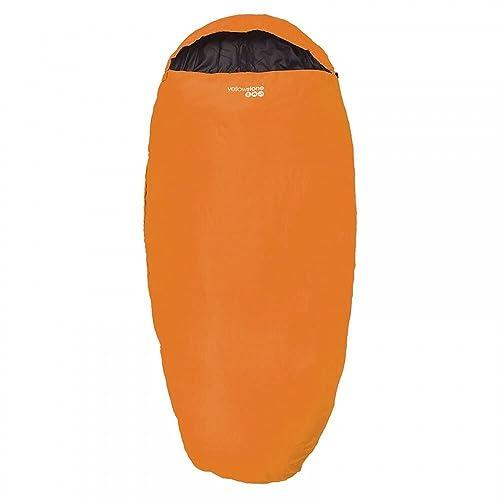 Yellowstone Sleepwell 300 Sleeping Bag - Orange/Black