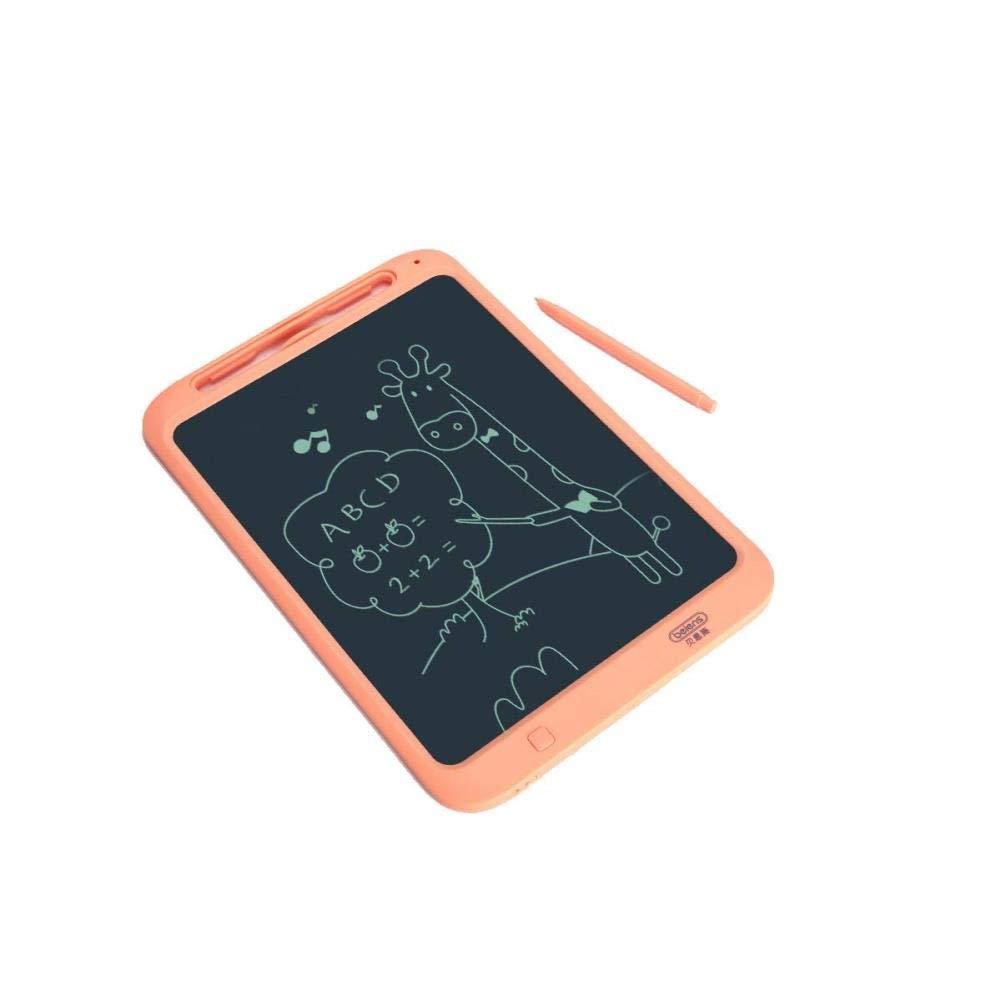 Aerth Tavolo da Disegno LCD, Lavagna Elettronica a energia Leggera, Lavagna Graffiti, Lavagna da Scrittura amagnetica, Blu, Arancione