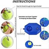 Tennis Trainer Rebounder Ball Trainer Baseboard