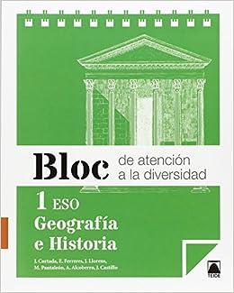 Bloc de atención a la diversidad. Geografía e historia 1 ESO ...