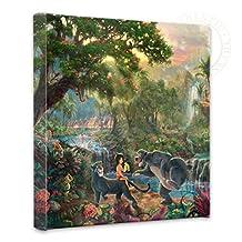 Thomas Kinkade - Jungle Book Open Edition Wrapped Canvas