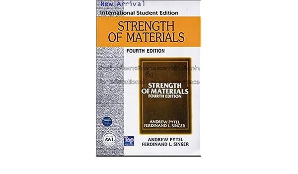 Strength Of Materials By Ferdinand Singer Pdf