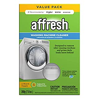 Affresh W10549846 Washing Machine Cleaner   Cleans Front Top Load Washers, Including HE, 5 Tablets