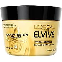 L'Oréal Paris Elvive Total Repair 5 Damage-Erasing Balm, 8.5 (Packaging May Vary)