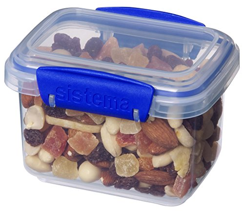 Sistema 1540 Klip It Collection Rectangle Food Storage Container, 13 Ounce