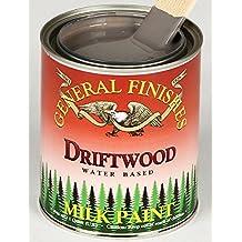 General Finishes QD Milk Paint, 1 quart, Driftwood