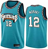 12# Ja Morant Men's Basketball Jersey GrizzliesMesh Stitched Jerseys Cool Fitness Swin